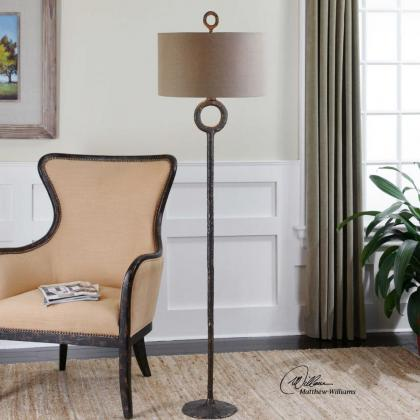 Request a quote on the Ferro Floor Lamp from Pine Tree Barn!