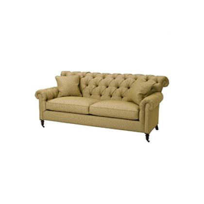 Contact Pine Tree Barn to order the Crawley Tufted Sofa