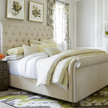 The Boho Chic Bed from Universal Furniture at Pine Tree Barn
