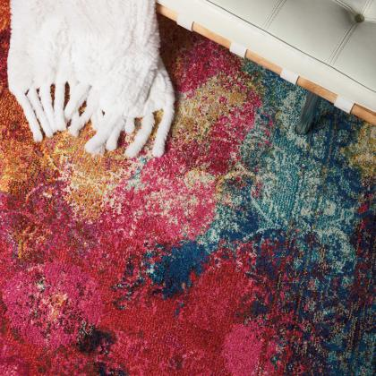 Celestial Rug from Nourison Rugs, available at Pine Tree Barn