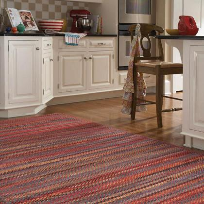 Songbird Cardinal Red Rug from Capel Rugs, available at Pine Tree Barn