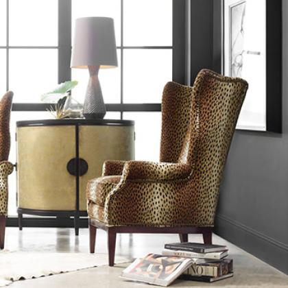 Contact Pine Tree Barn to order the Aurora Wing Chair by Sam Moore