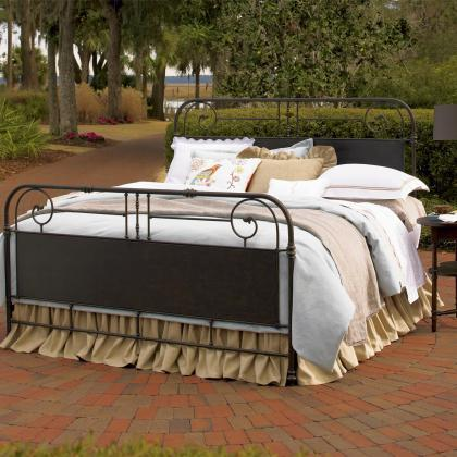 Garden Gate Metal Bed from Universal Furniture available at Pine Tree Barn