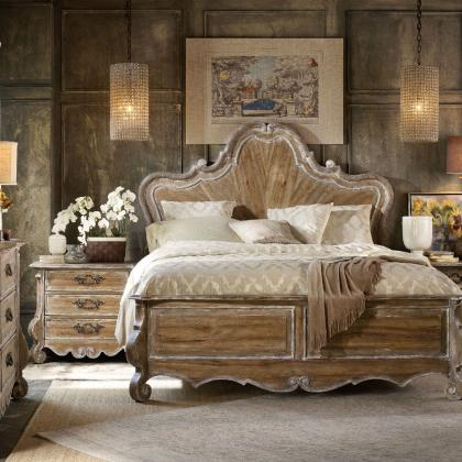 Chatelet King Wood Panel Bed from Hooker Furniture at Pine Tree Barn