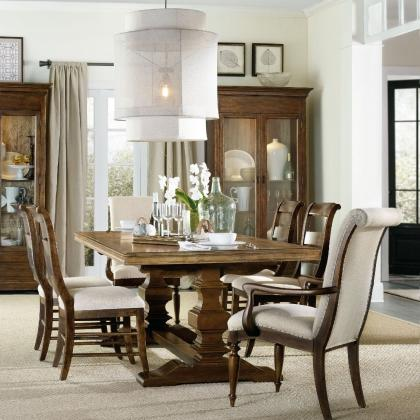 Archivist Trestle Table by Hooker Furniture at Pine Tree Barn