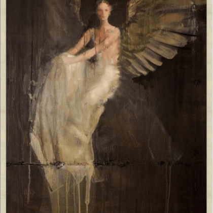 Angel art print from Wendover, available at Pine Tree Barn