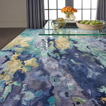 Prismatic Rug from Nourison Rugs, available at Pine Tree Barn