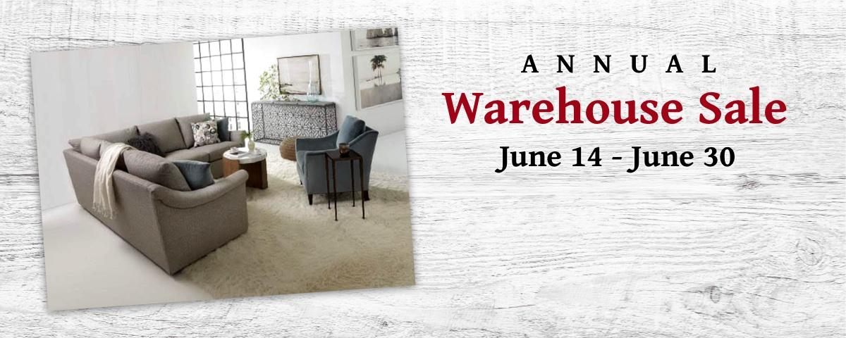 Annual Warehouse Sale